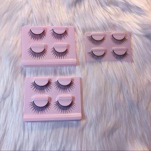 NEW 6 Pairs of Fake Eyelashes Bundle